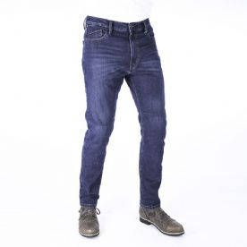Oxford Slim Fit 2 year Aged Jeans Regular Leg-blue